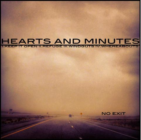 Hearts and Minutes - No Exit - Cover